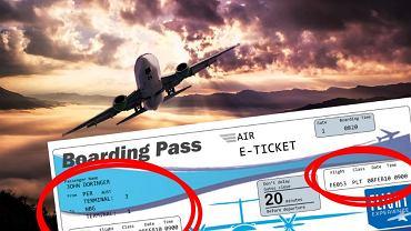 Dane z biletu lotniczego trafią do nowej bazy PNR