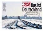 """Zdj�cie Auschwitz i podpis: """"To s� Niemcy"""". Mocna ok�adka berli�skiego dziennika"""