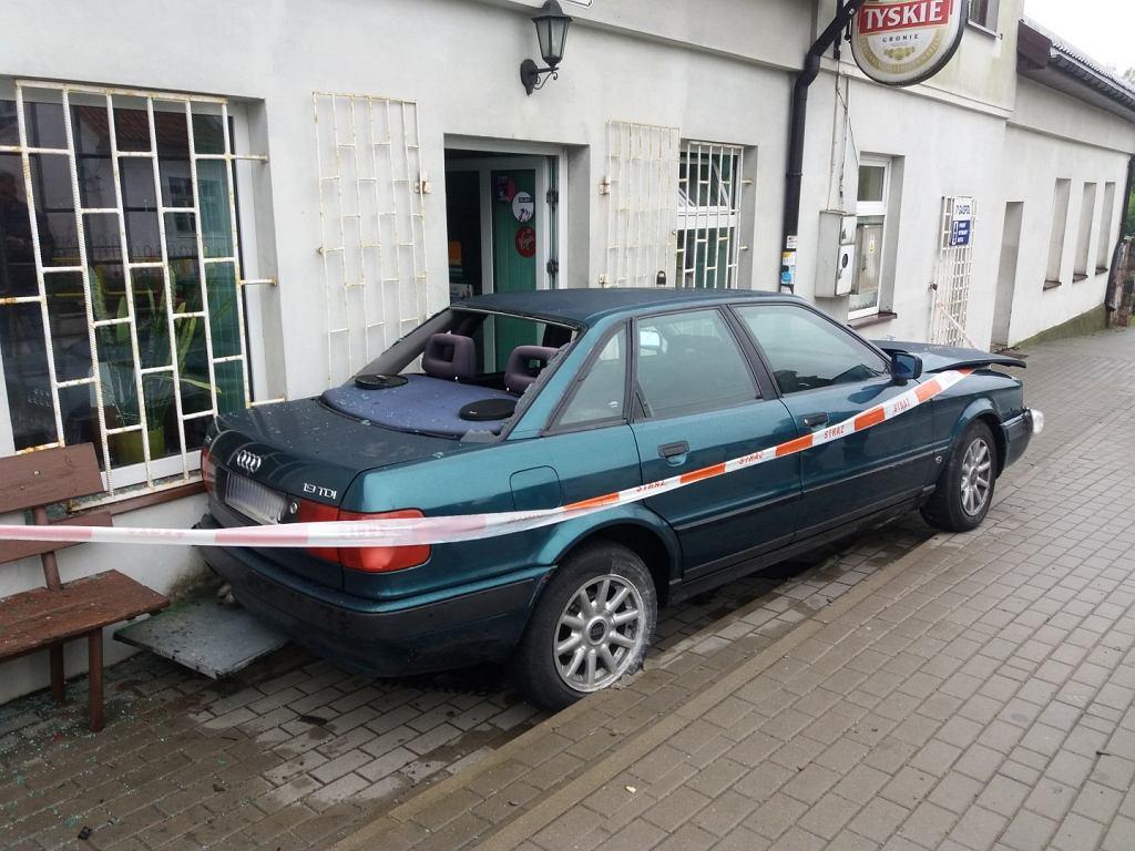 Wypadek w Grabowie