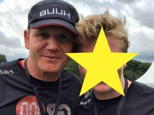 Gordon Ramsay z synem Jackiem