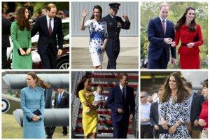 16 stylizacji Kate Middleton z Australii i Nowej Zelandii. Co zaprezentowa�a ksi�na Cambridge? [DU�O ZDJ��]