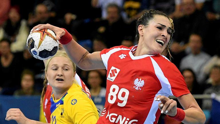 Kinga Achruk w meczu ze Szwecją