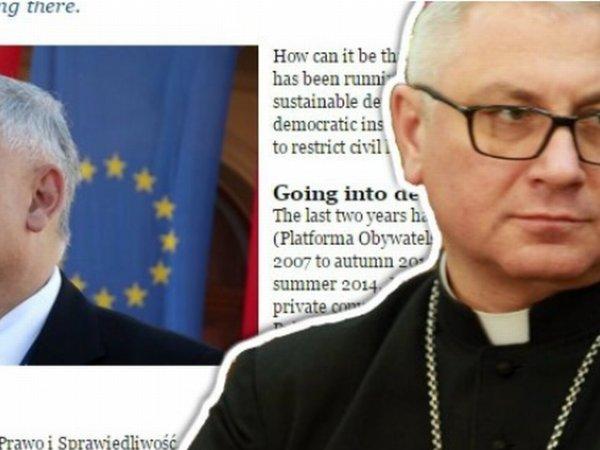 Polscy biskupi domagają się zdjęcia artykułu ze strony biskupów europejskich. Chodzi o 1 zdanie