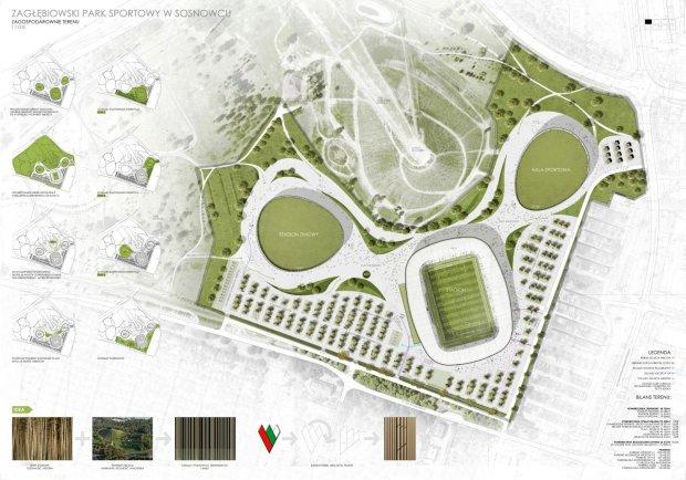 Zag��bie Sosnowiec. Wizualizacje nowego stadionu robi� wra�enie! [ZDJ�CIA]
