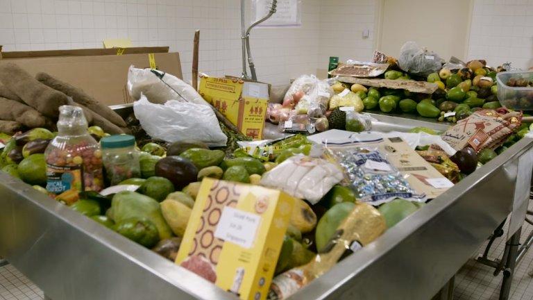 Nielegalnie przywożona żywność do Stanów Zjednoczonych