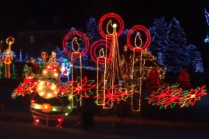 USA. Mężczyzna znany z wielkich dekoracji świątecznych znaleziony martwy na terenie swojej posesji