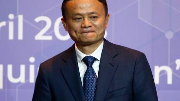 Jack Ma, założyciel i szef Alibaby