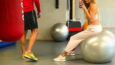 Sportowa Małgorzata Rozenek pozuje na Instagramie. Komentuje Deynn