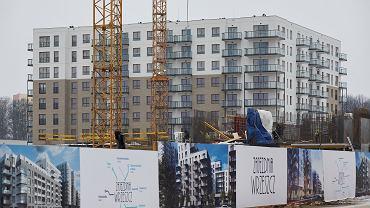 Budowa osiedla Robyg w Gdańsku