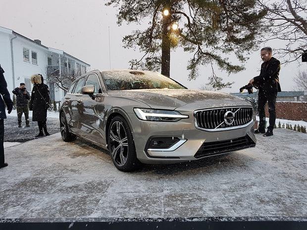 Pierwszy kontakt z nowym Volvo V60 - uczestniczyliśmy w światowej premierze