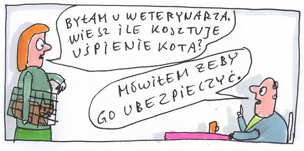Marek Raczkowski dla Gazeta.pl - 09.10.2013  -  - rys. Marek Raczkowski