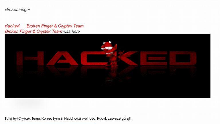 Zaatakowana przez hakerów strona prezydenta Sopotu Jacka Karnowskiego