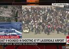 Strzelanina na lotnisku na Florydzie. Napastnik zabił 5 osób, 8 zostało rannych