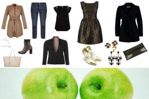 Figura jabłko - najlepsze stylizacje