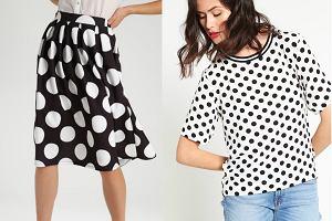 Grochy - modny wzór na jesień. Wielki przegląd ubrań i dodatków
