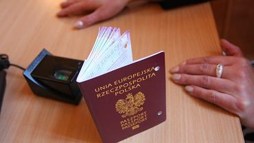 Paszport. Zdjęcie ilustracyjne