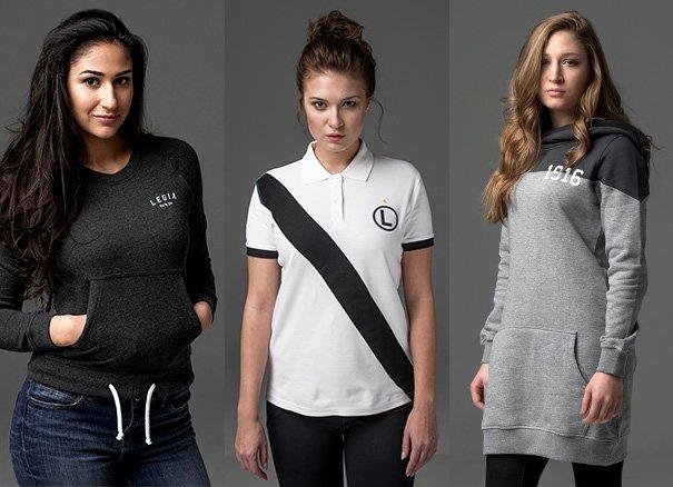 Legia chce ubiera� warszawianki. Nowa kolekcja i sklep na Lotnisku Chopina