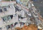 Błotna lawina spłynęła na park przemysłowy w Shenzhen. Ponad 90 osób zaginionych