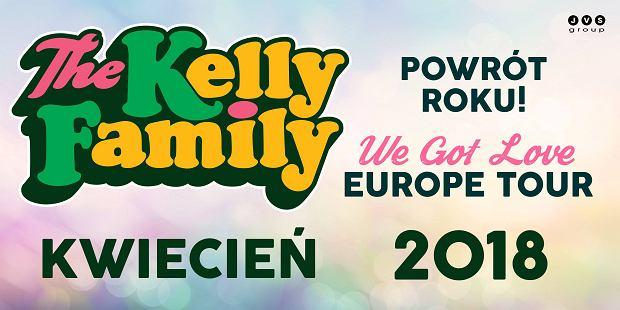 The Kelly Family na trzech koncertach w Polsce