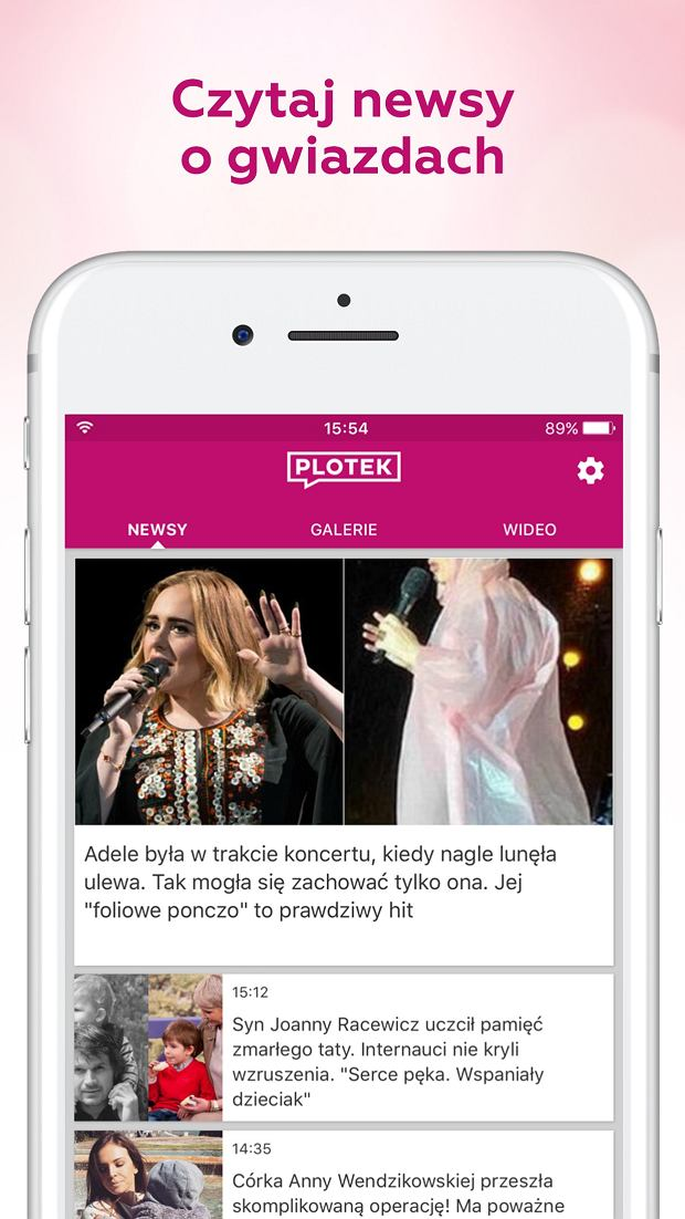 Nowa aplikacja Plotek.pl