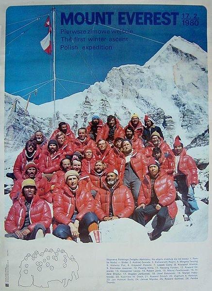 Zdjęcie numer 3 w galerii - 35 lat temu Polacy jako pierwsi zdobyli zimą Mount Everest