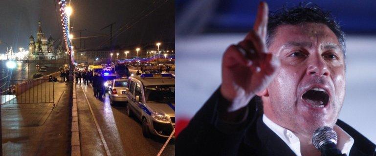 Jeden z najwi�kszych krytyk�w Rosji Borys Niemcow zastrzelony w centrum Moskwy. Tu� obok Kremla