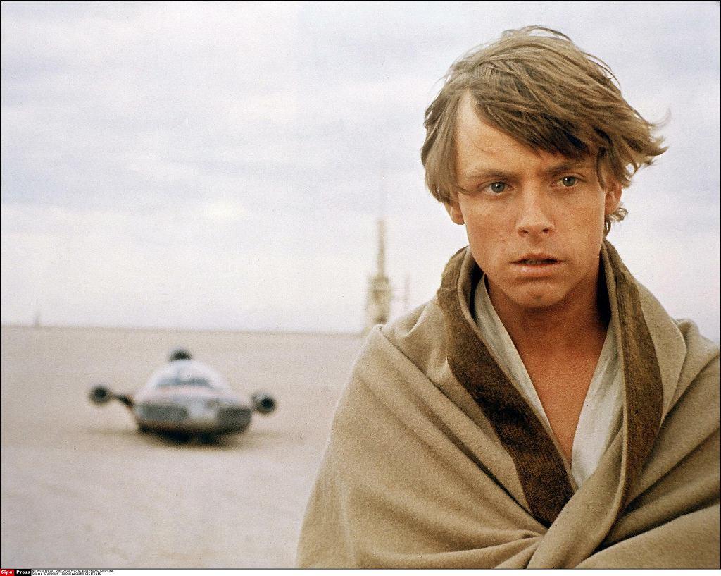 Mark Hamill jako Luke Skywalker w sadze'Gwiezdne wojny'  / SIPA PRESS