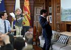 Justin Trudeau przyprowadził synka do pracy. 3-latek pomagał premierowi Kanady w obowiązkach