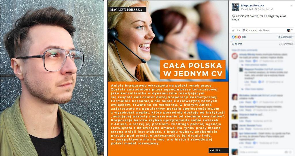 Stanisław Klęski, Magazyn Porażka (fot. archiwum prywatne / facebook.com/magazynporazka)