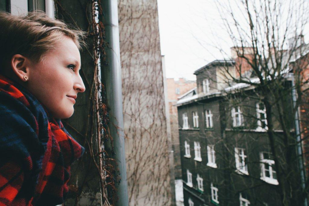Jola patrzy ze spokojem w przyszłość, Bóg nauczył ją ufności i radości (fot. Anna Nycz)