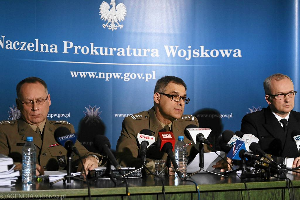 Konferencja prokuratury wojskowej ws. katastrofy smoleńskiej