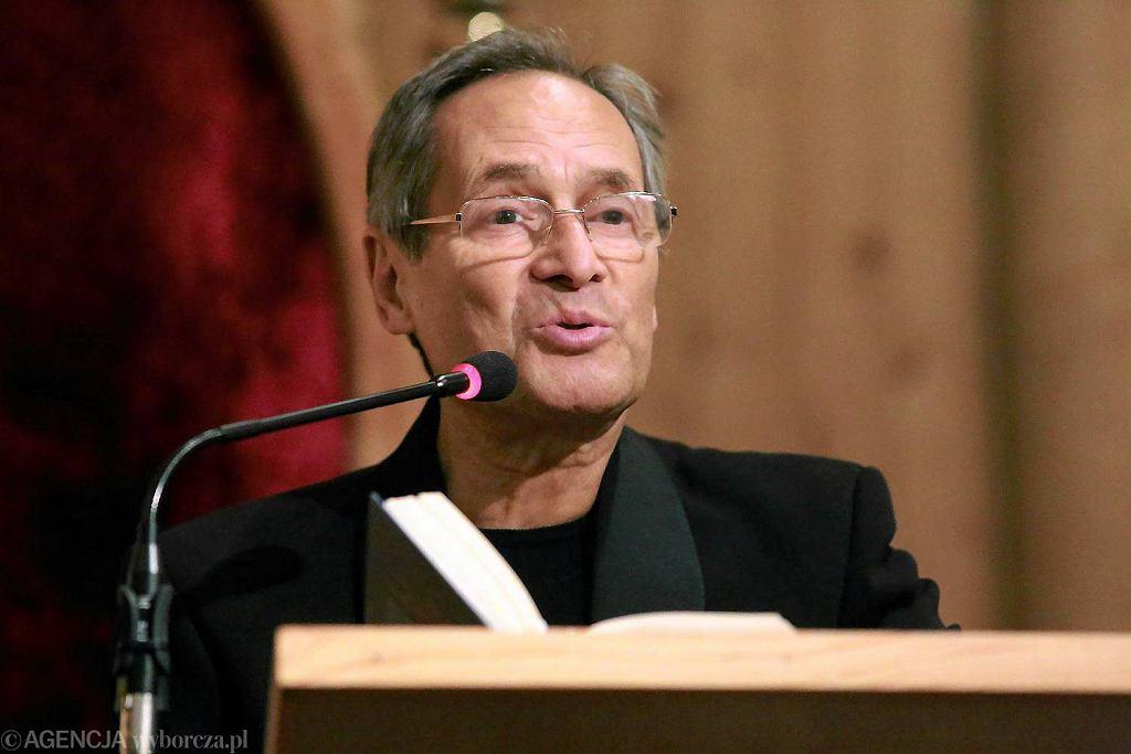 Jerzy Zelnik na spotkaniu w białostockim kościele