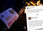 Ten rasistowski wpis o zamachach w Brukseli wyśmiały tysiące osób. A jego autor trafił do aresztu