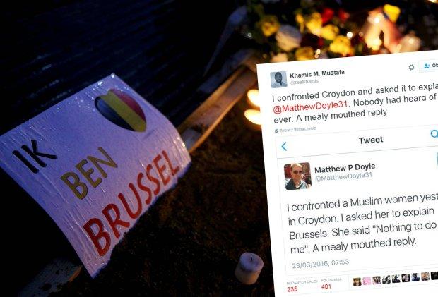 �a�oba po atakach terrorystycznych w Brukseli