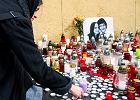 Upamiętnienie zamordowanego na Słowacji dziennikarza Jana Kuciaka