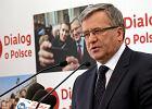 """Komorowski: """"Wezm� udzia� w debacie, je�eli dojdzie do drugiej tury"""""""