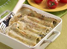 Makaron cannelloni ze szpinakiem - ugotuj
