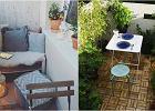Meble z palet, lampiony i dywany. Oceniamy najmodniejsze ozdoby i akcesoria balkonowe