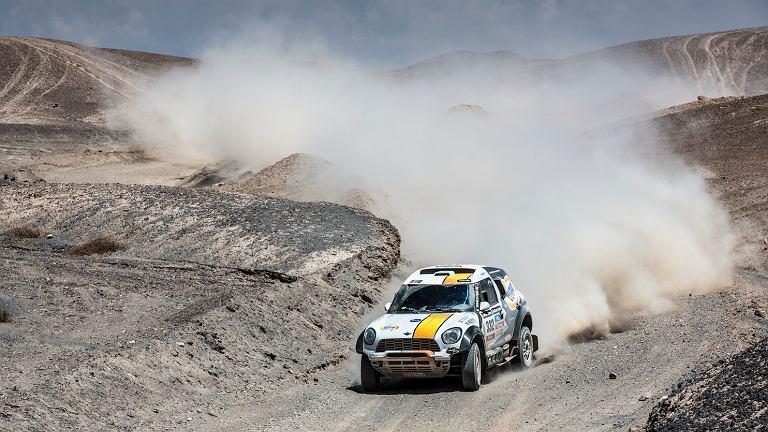 Martin Kaczmarski na trasie Rajdu Dakar
