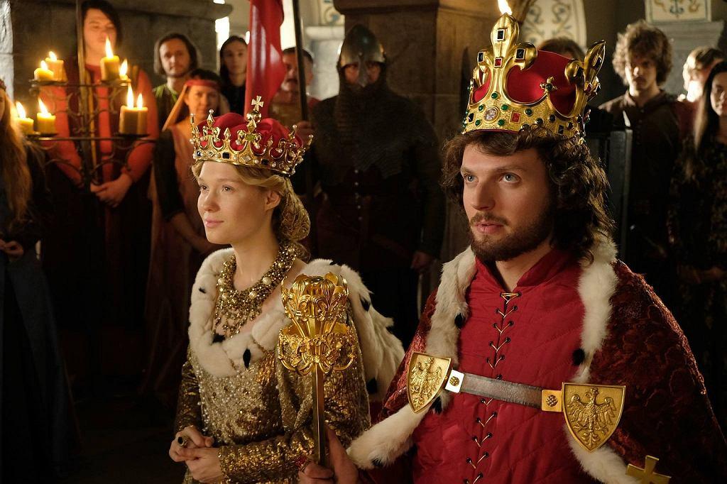 Marta Bryła w serialu TVP 'Korona Królów'