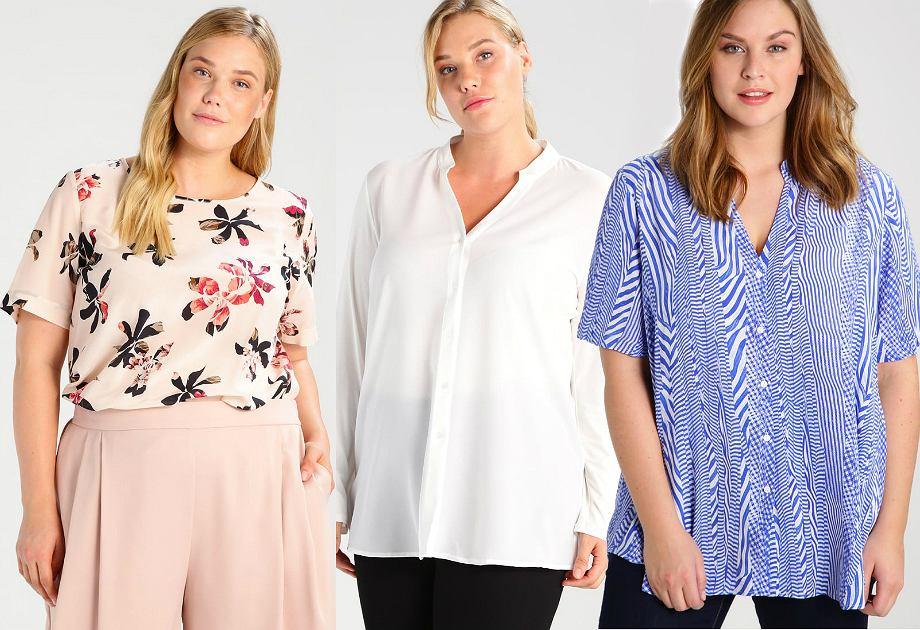 Bluzki i koszule plus size
