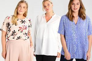 Te wzory cię wyszczuplą! Modne bluzki i koszule w rozmiarze plus size