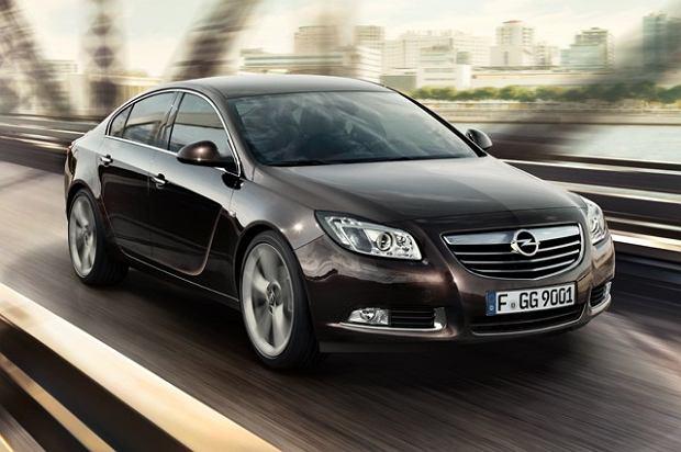 Opel Insignia z fabrycznym gazem