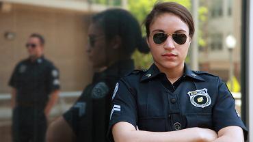 policjantka przy pracy