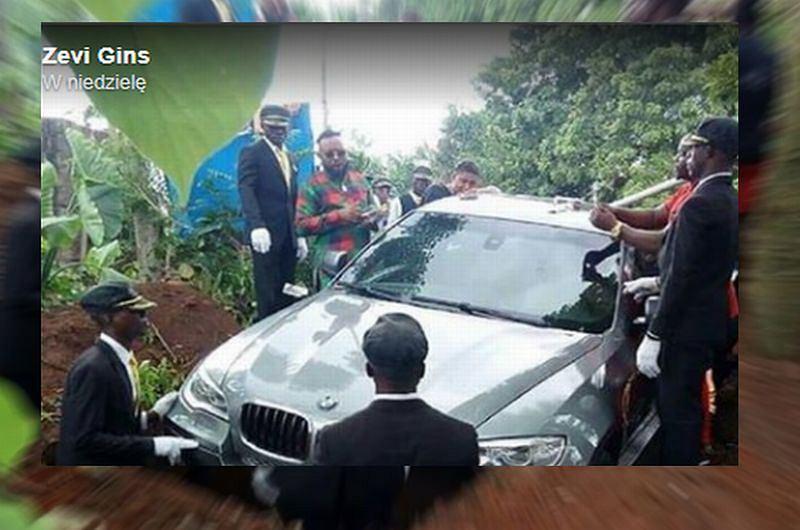 BMW zamiast trumny