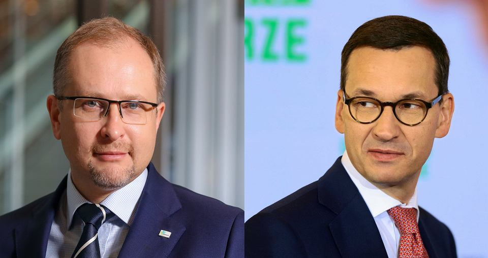 Krzysztof Kąkolewski i Mateusz Morawiecki