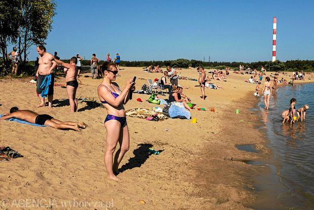Jeziorko przy Bardowskiego na Targówku, fot. Jędrzej Nowicki