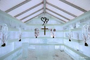 W tym kościele można wziąć ślub tylko zimą, a chętni muszą przejść casting [ZDJĘCIA]