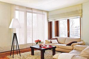 Zas�ony panelowe - pomys� na aran�acj� okien i �cian