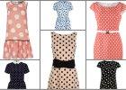 Sukienki w groszki - od 39,99 z�